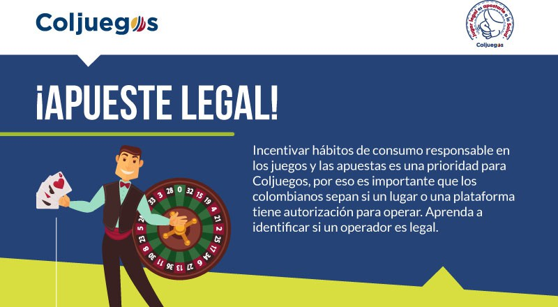 Apuesta legal en Colombia